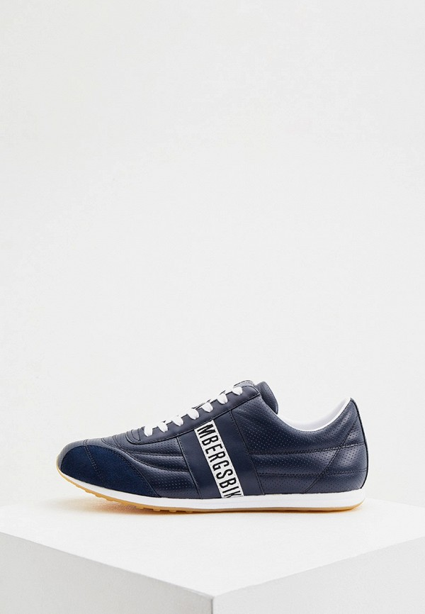 мужские низкие кроссовки dirk bikkembergs, синие