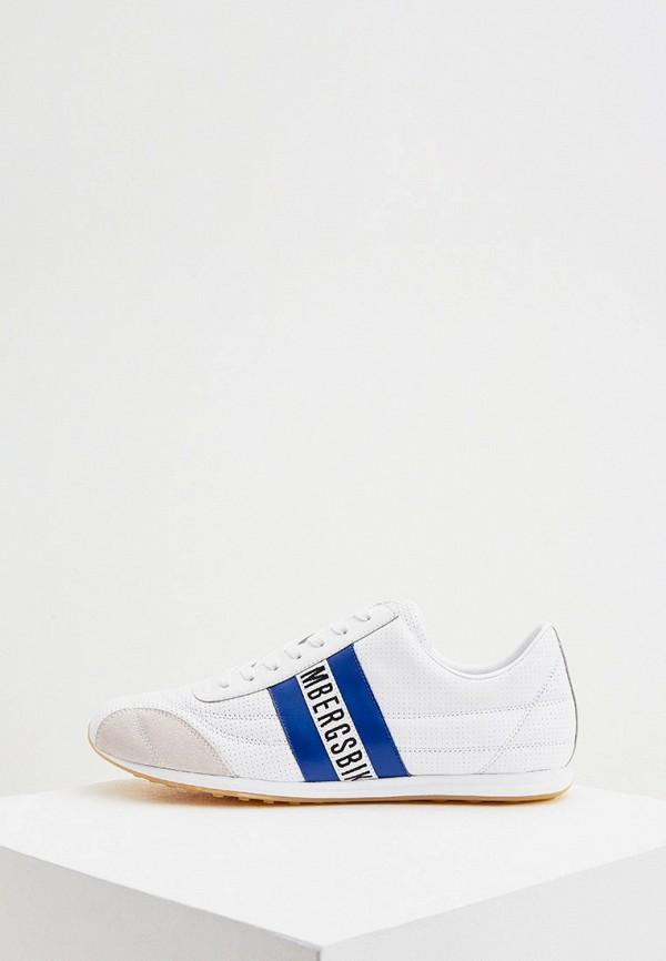 мужские низкие кроссовки dirk bikkembergs, белые