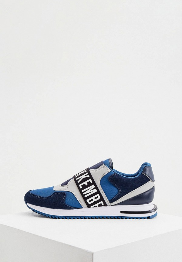 мужские кроссовки dirk bikkembergs, синие