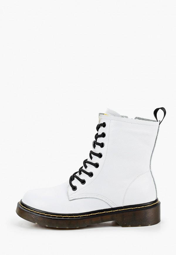 женские высокие ботинки diverius, белые