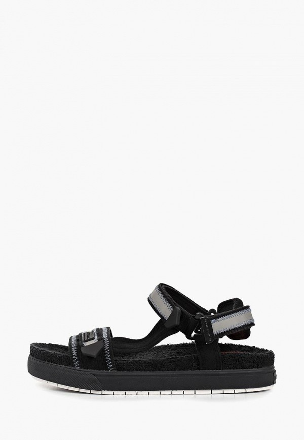 мужские сандалии diesel, черные