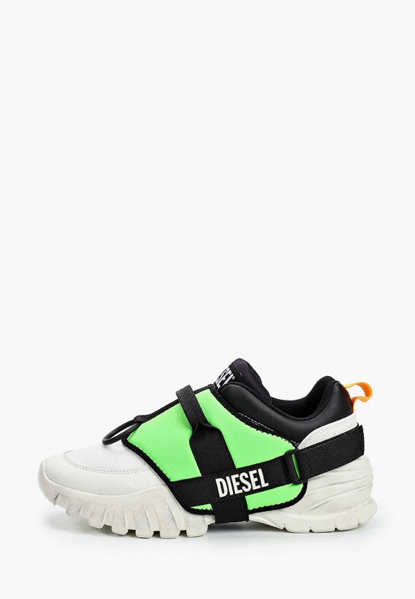 мужские низкие кроссовки diesel, разноцветные
