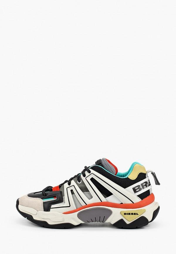 мужские кроссовки diesel, разноцветные