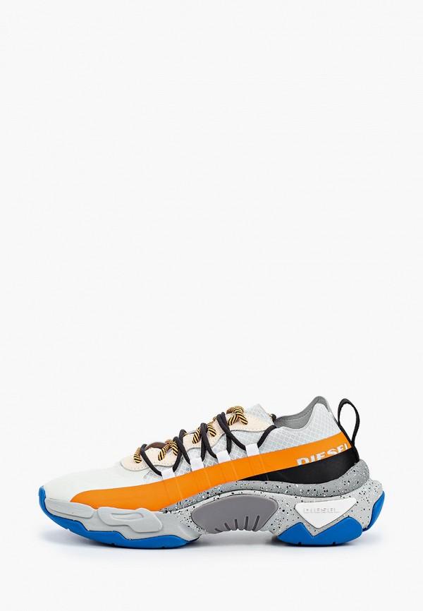 мужские низкие кроссовки diesel, серые