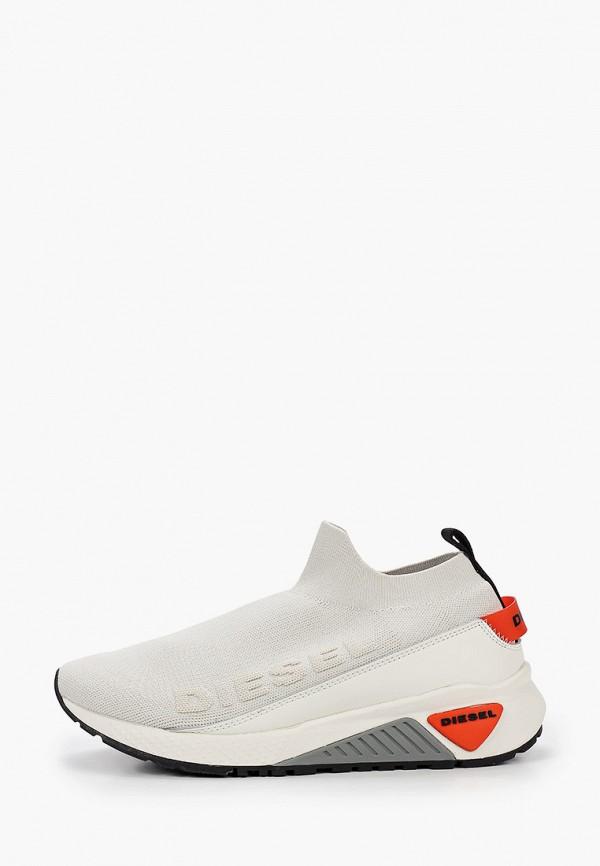 мужские низкие кроссовки diesel, белые