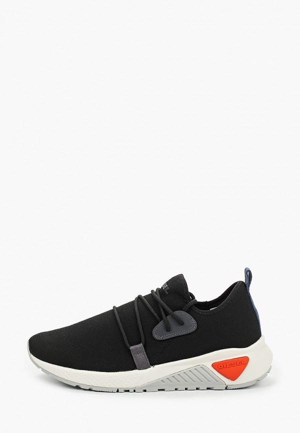 мужские низкие кроссовки diesel, черные