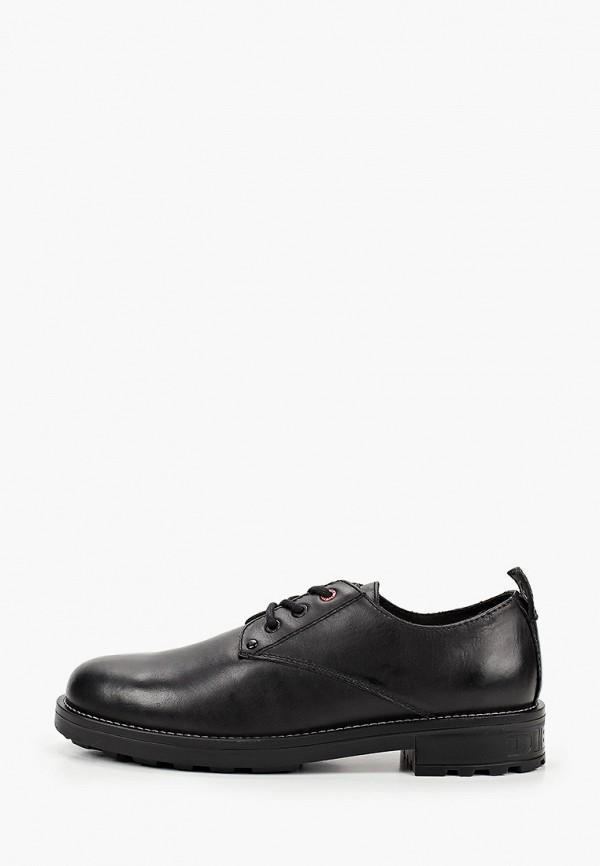 мужские туфли diesel, черные