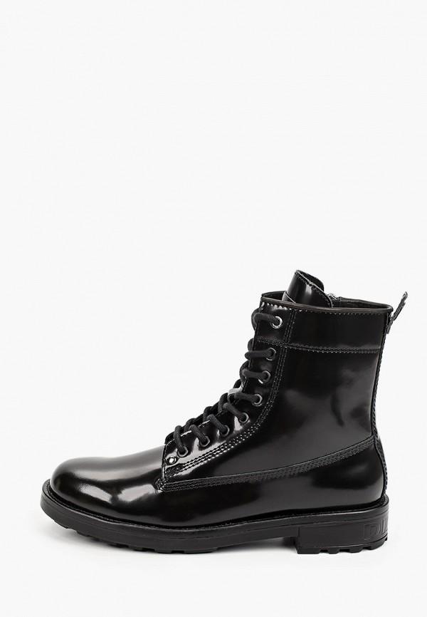 мужские ботинки diesel, черные