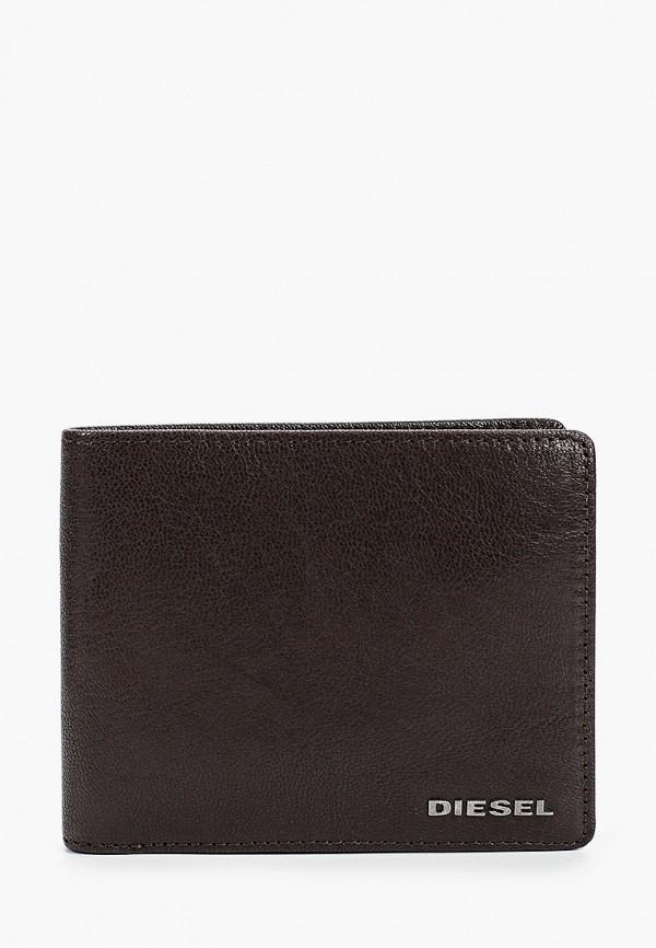 мужской кошелёк diesel, коричневый