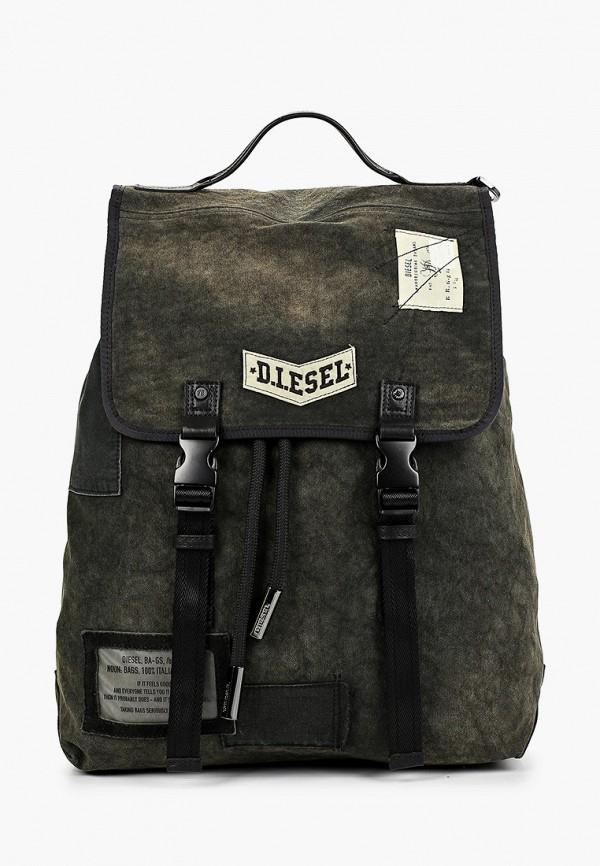 мужской рюкзак diesel, зеленый