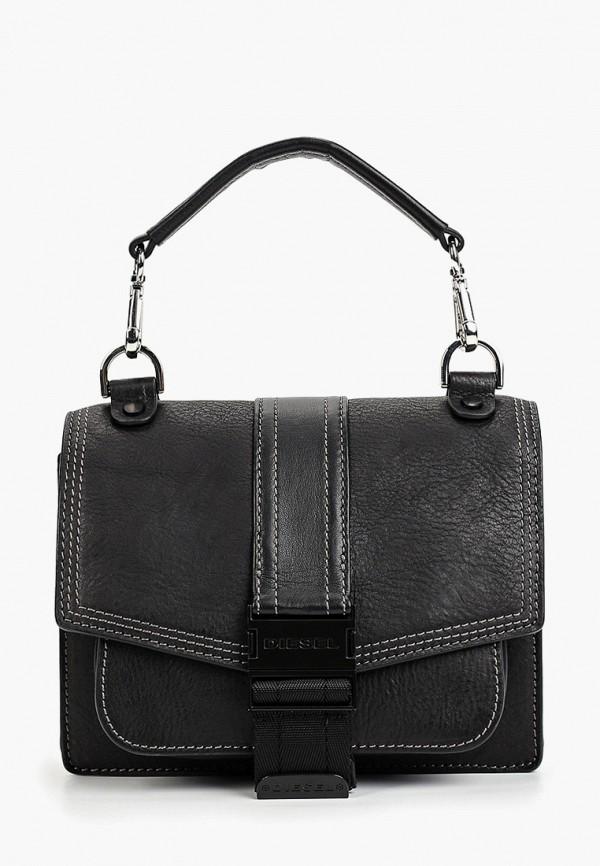 женская сумка diesel, черная