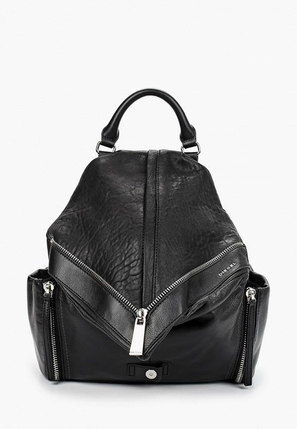 женский рюкзак diesel, черный