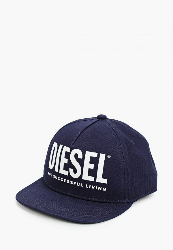 бейсболка diesel для мальчика, синяя
