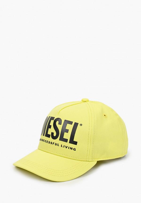 бейсболка diesel малыши, желтая