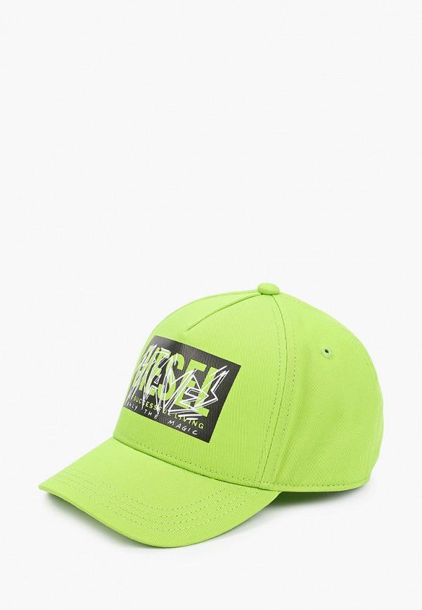 бейсболка diesel малыши, зеленая