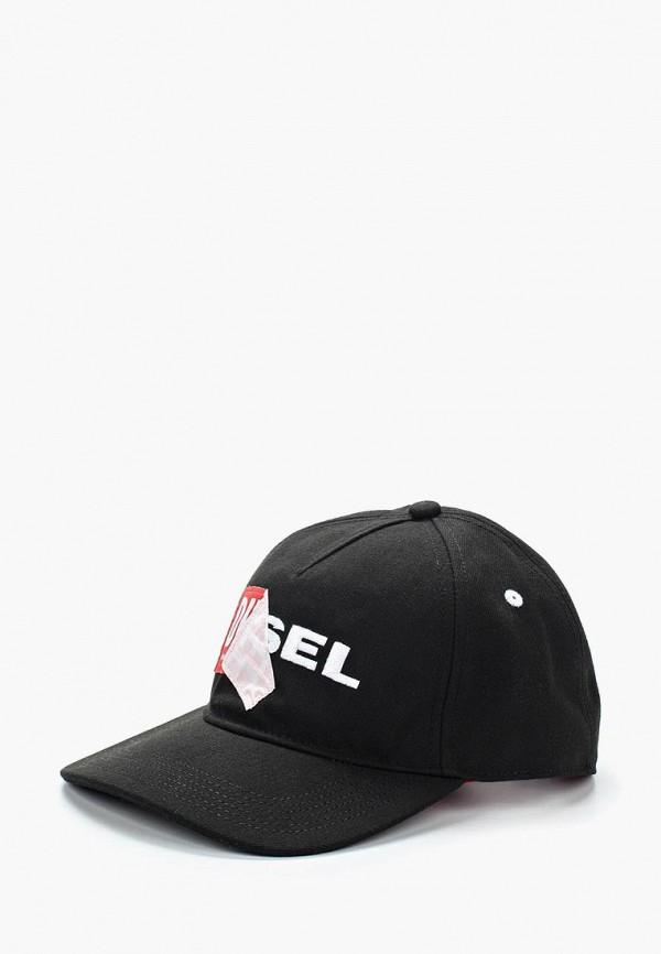 Купить Бейсболка Diesel, di303cmadbq8, черный, Весна-лето 2018