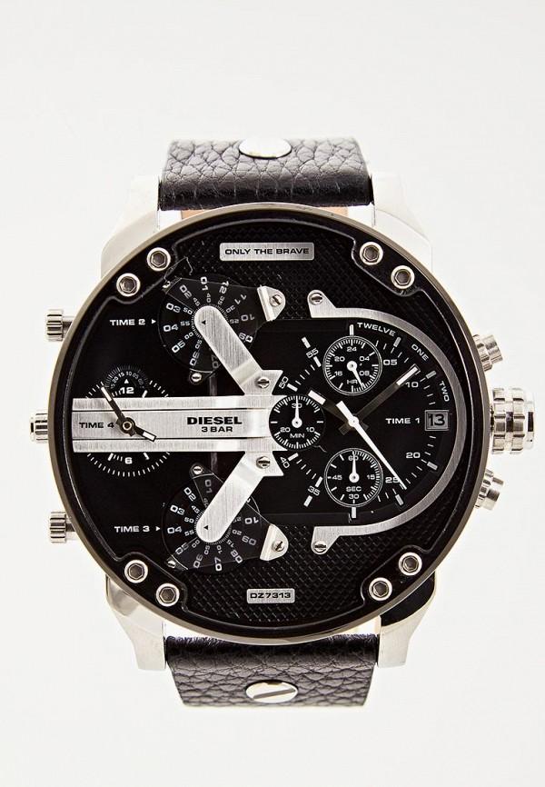 мужские часы diesel, черные