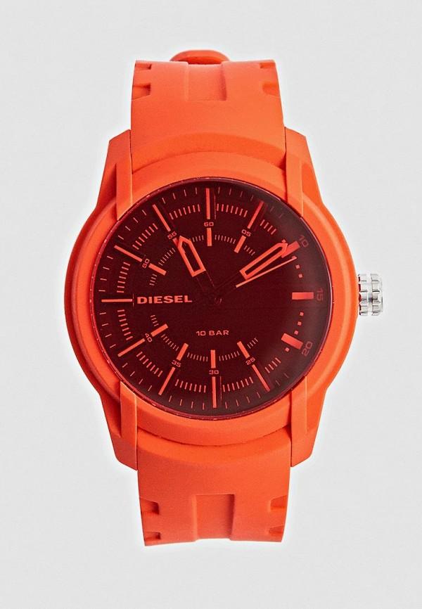 мужские часы diesel, красные