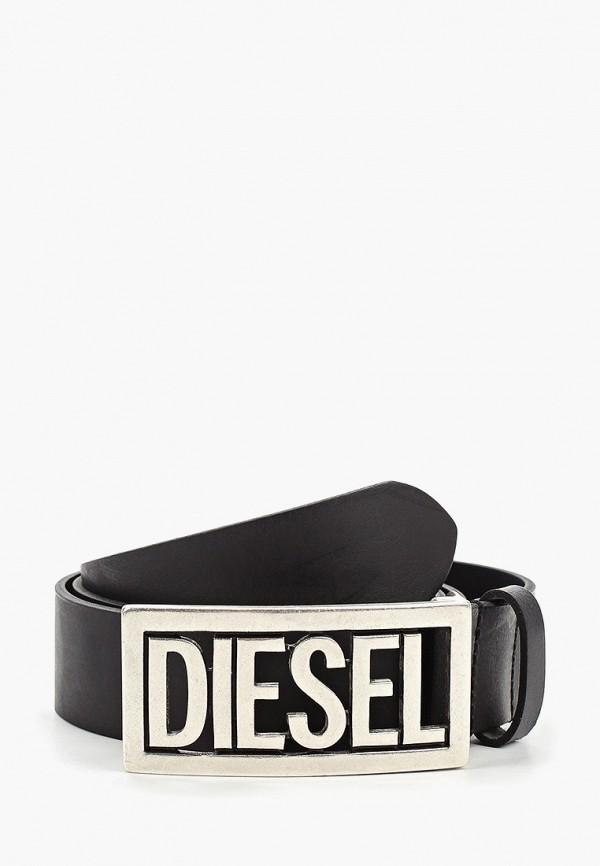 мужской ремень diesel, черный