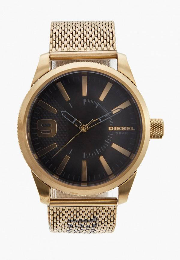 мужские часы diesel, золотые