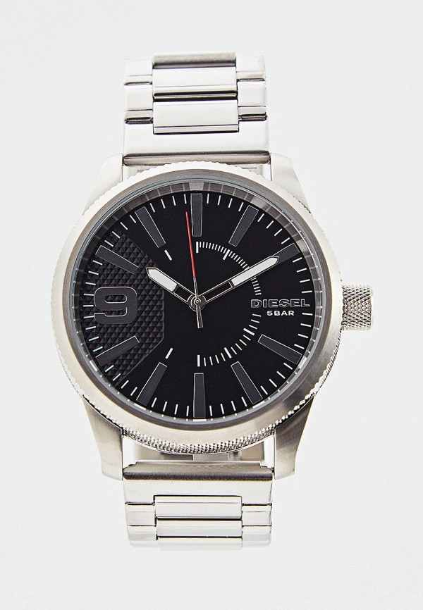 мужские часы diesel, серебряные