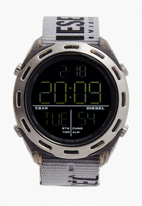 мужские часы diesel, серые