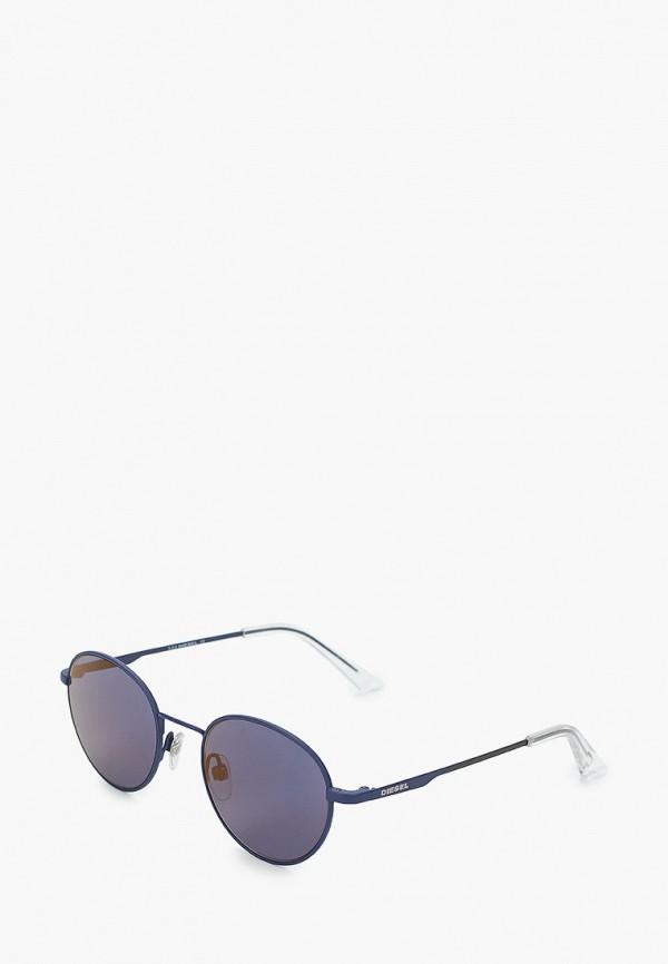 мужские солнцезащитные очки diesel, синие