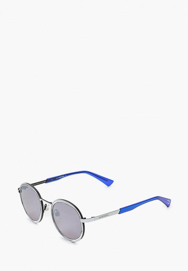 мужские солнцезащитные очки diesel, серые