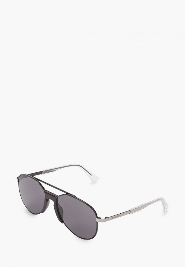 мужские солнцезащитные очки diesel, черные