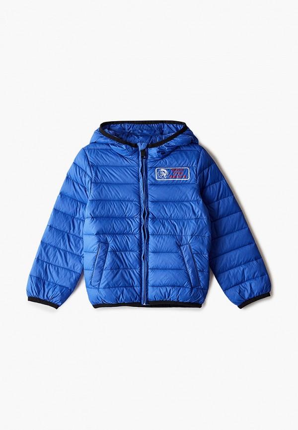 куртка diesel для мальчика, синяя