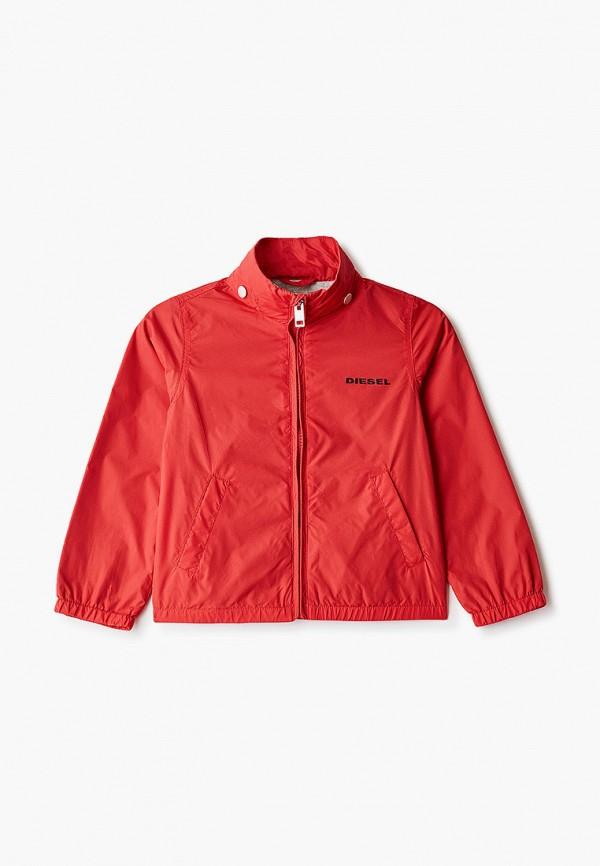 куртка diesel для мальчика, красная