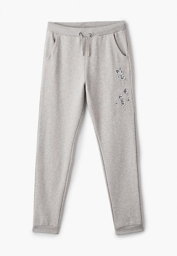 спортивные брюки diesel для девочки, серые