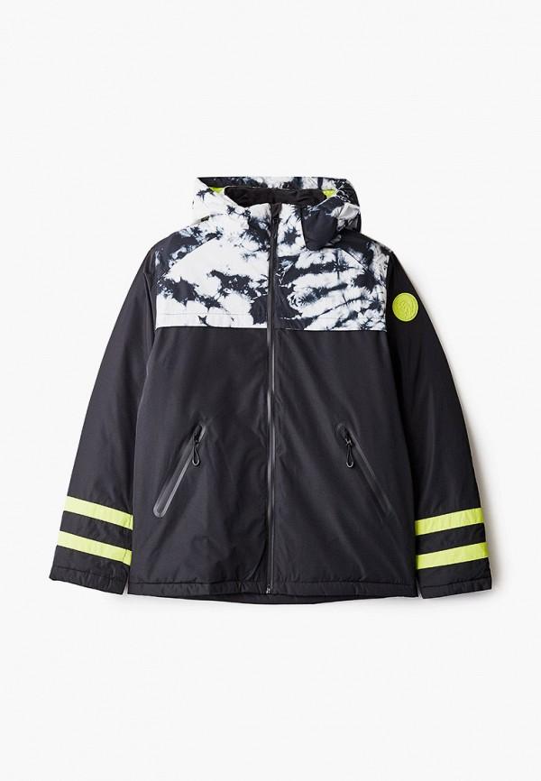 горнолыжные куртка diesel малыши, черная