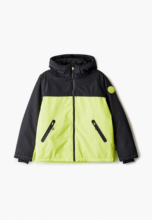 куртка diesel малыши, зеленая