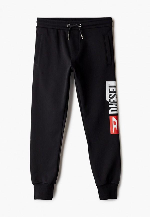 спортивные брюки diesel малыши, черные