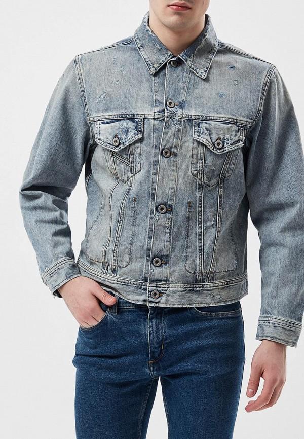 Куртка джинсовая Diesel Diesel DI303EMAEWQ9 куртка утепленная diesel diesel di303emxwh27