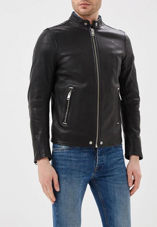Куртка кожаная Diesel Diesel DI303EMASVB0 цена