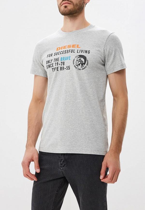 Футболка Diesel Diesel DI303EMBVFS0 футболка мужская diesel q01530402 grey