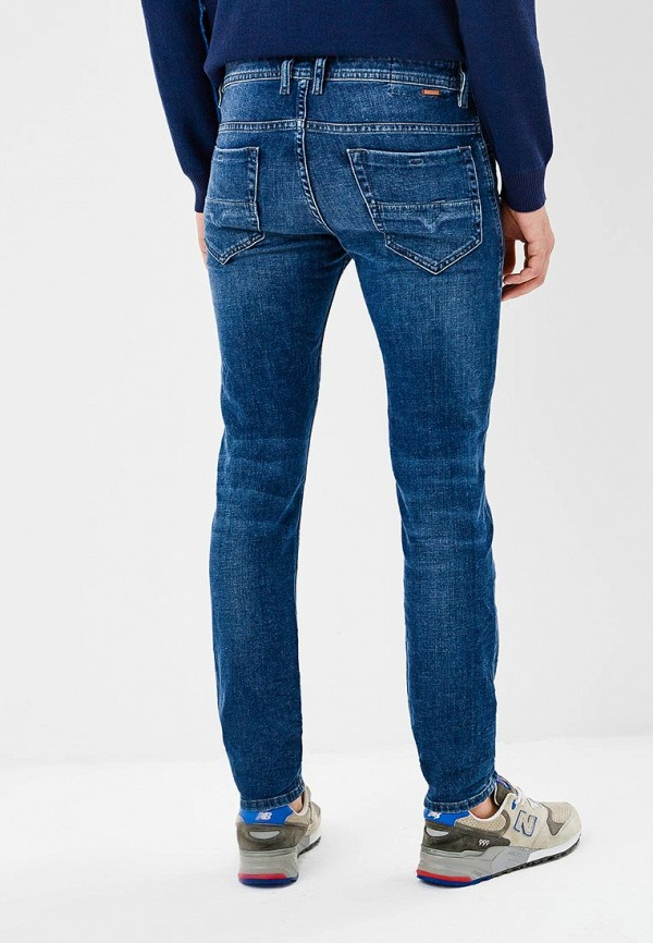 Фото 3 - мужские джинсы Diesel синего цвета