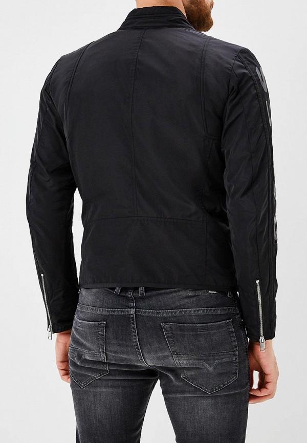Фото 3 - мужскую куртку Diesel черного цвета