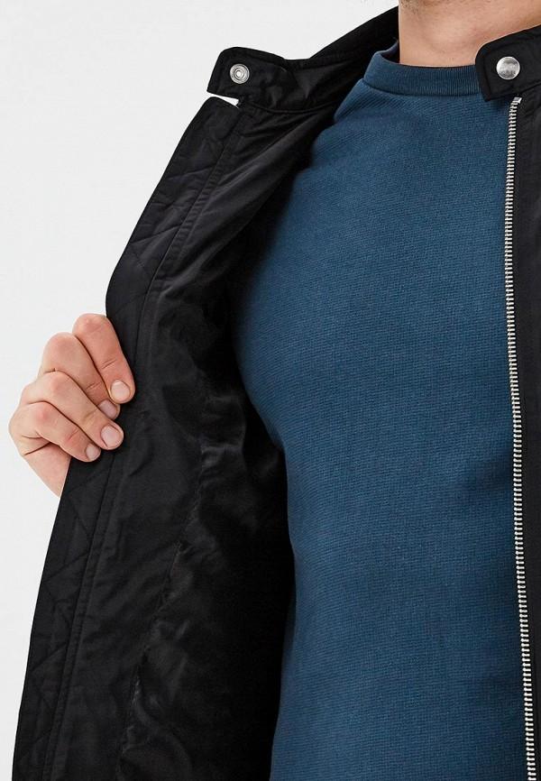 Фото 4 - мужскую куртку Diesel черного цвета
