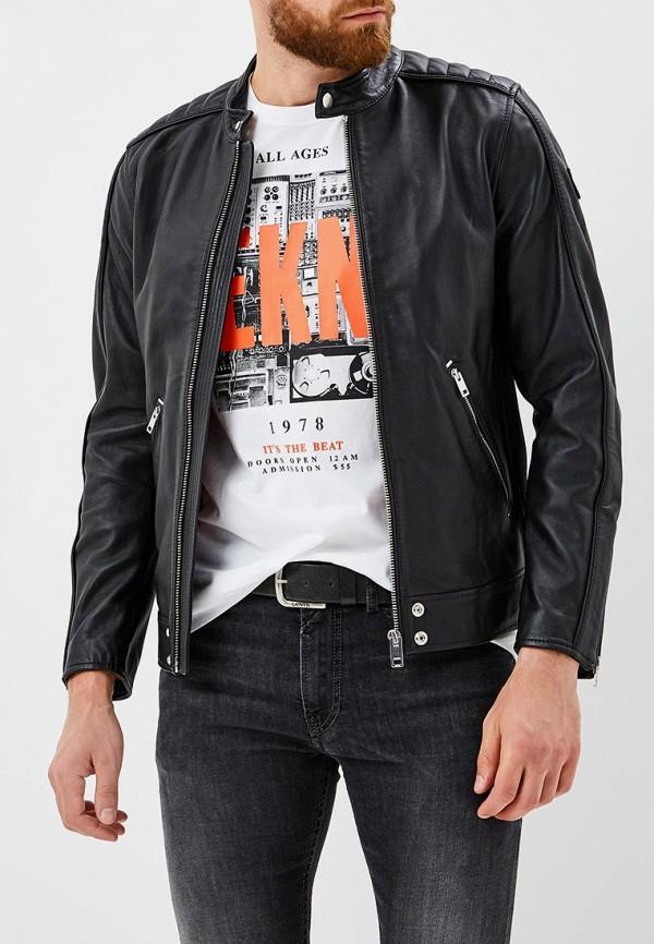Куртка кожаная Diesel  DI303EMBVFX2
