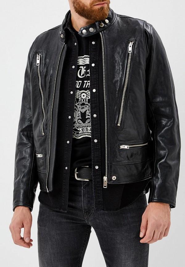 Куртка кожаная Diesel Diesel DI303EMBVFX3 куртка кожаная diesel diesel di303emlhh05