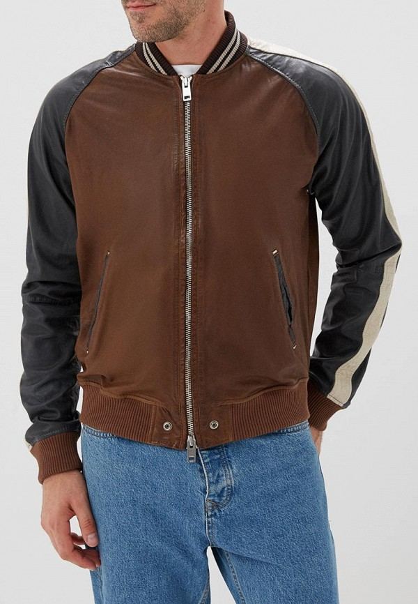 Куртка кожаная Diesel Diesel DI303EMCTMY4 куртка кожаная diesel diesel di303emlhh05