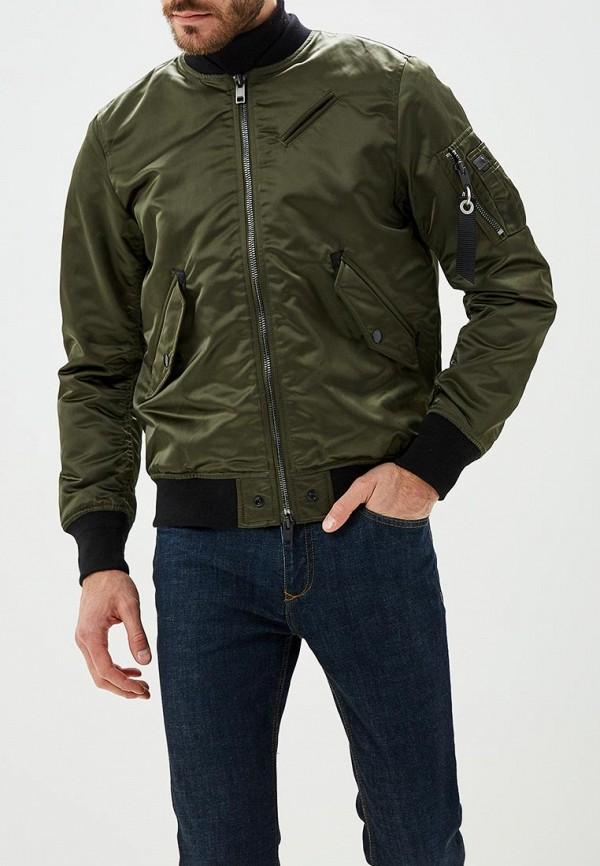 Куртка утепленная Diesel Diesel DI303EMCTNF5 куртка кожаная diesel diesel di303emlhh05