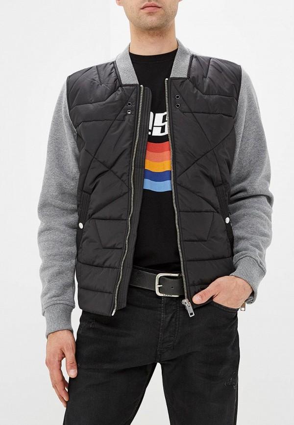Куртка утепленная Diesel Diesel DI303EMCTNG2 куртка кожаная diesel diesel di303emlhh05