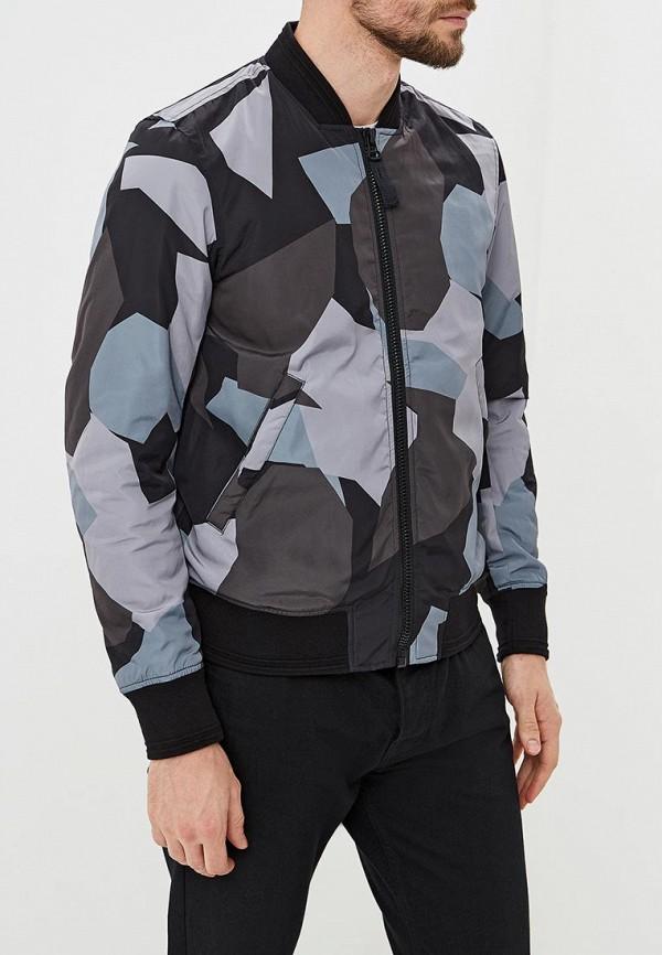 Куртка утепленная Diesel, DI303EMCTNH1, серый, Осень-зима 2018/2019  - купить со скидкой