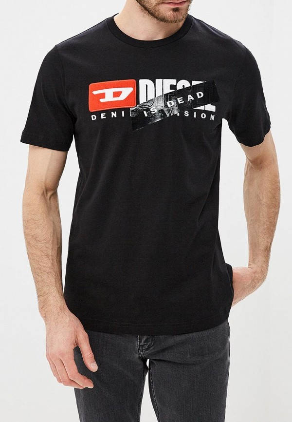 Футболка Diesel Diesel DI303EMDBGA4 футболка diesel diesel di303embvfz6