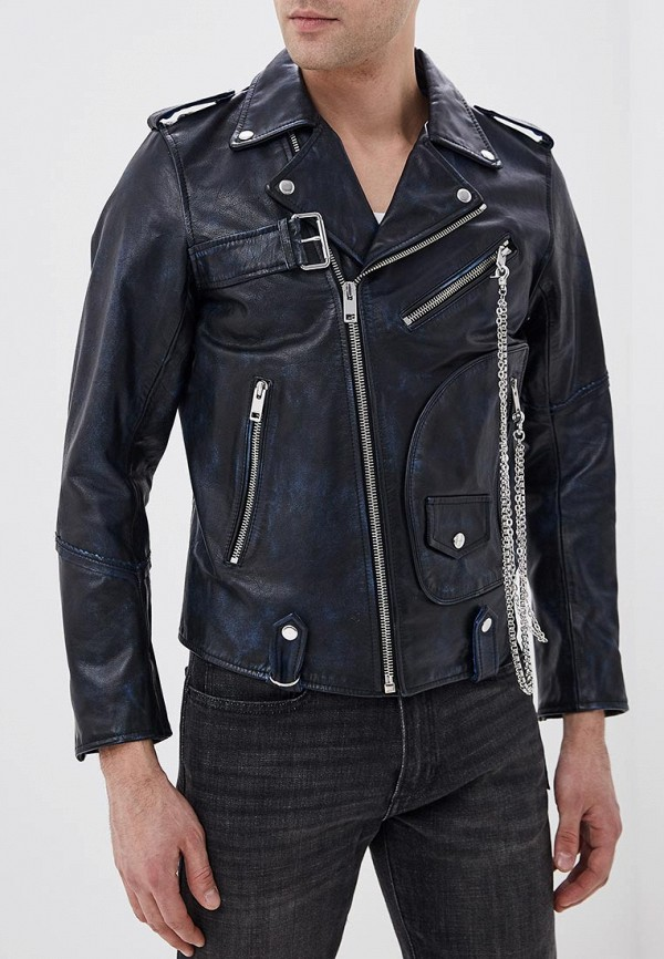 Куртка кожаная Diesel Diesel DI303EMDJSB8 смартфон zte blade v8 mini 32gb black