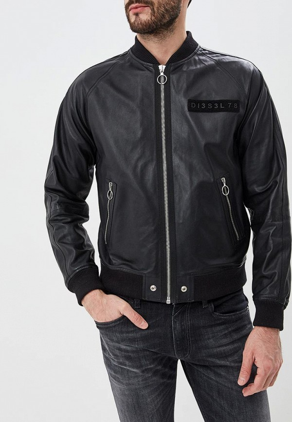 Куртка кожаная Diesel Diesel DI303EMDJSB9 куртка diesel куртка